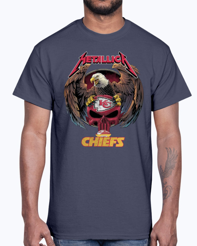 METALLICA KANSAS CITY CHIEFS SHIRT
