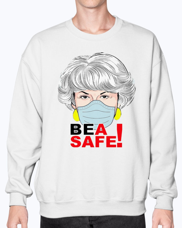 DOROTHY GOLDEN GIRLS FACE MASK BEA SAFE SHIRT