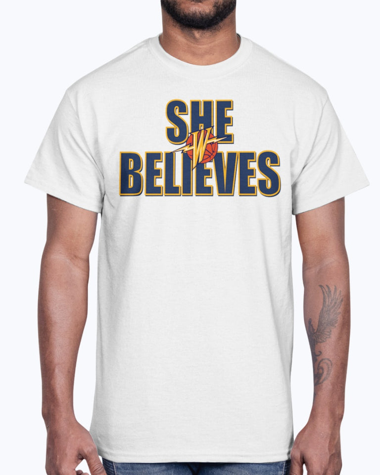 SHE BELIEVES Shirt Golden State Warriors