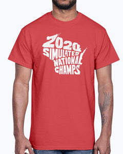 2020 Simulated National Champs T-Shirt
