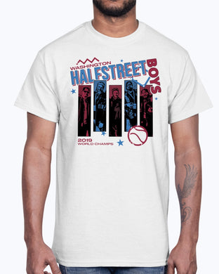 Washington Halfstreet Boys Shirt 2019 World Champs