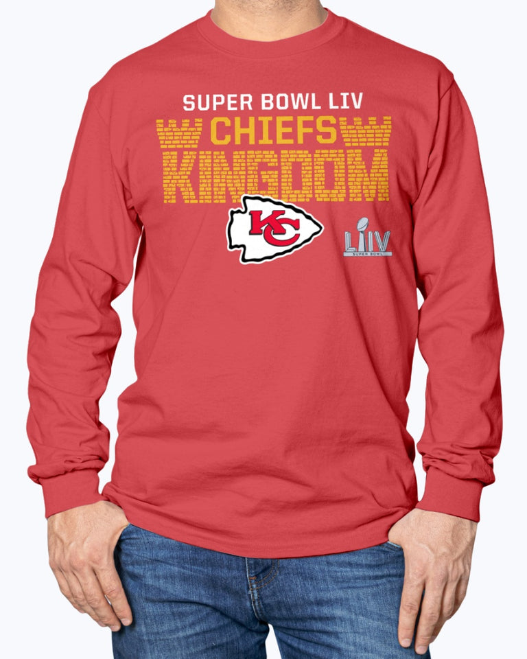 CHIEFS KINGDOM Shirt Kansas City Chiefs Super Bowl LIV Bound Hometown Final Drive T-Shirt