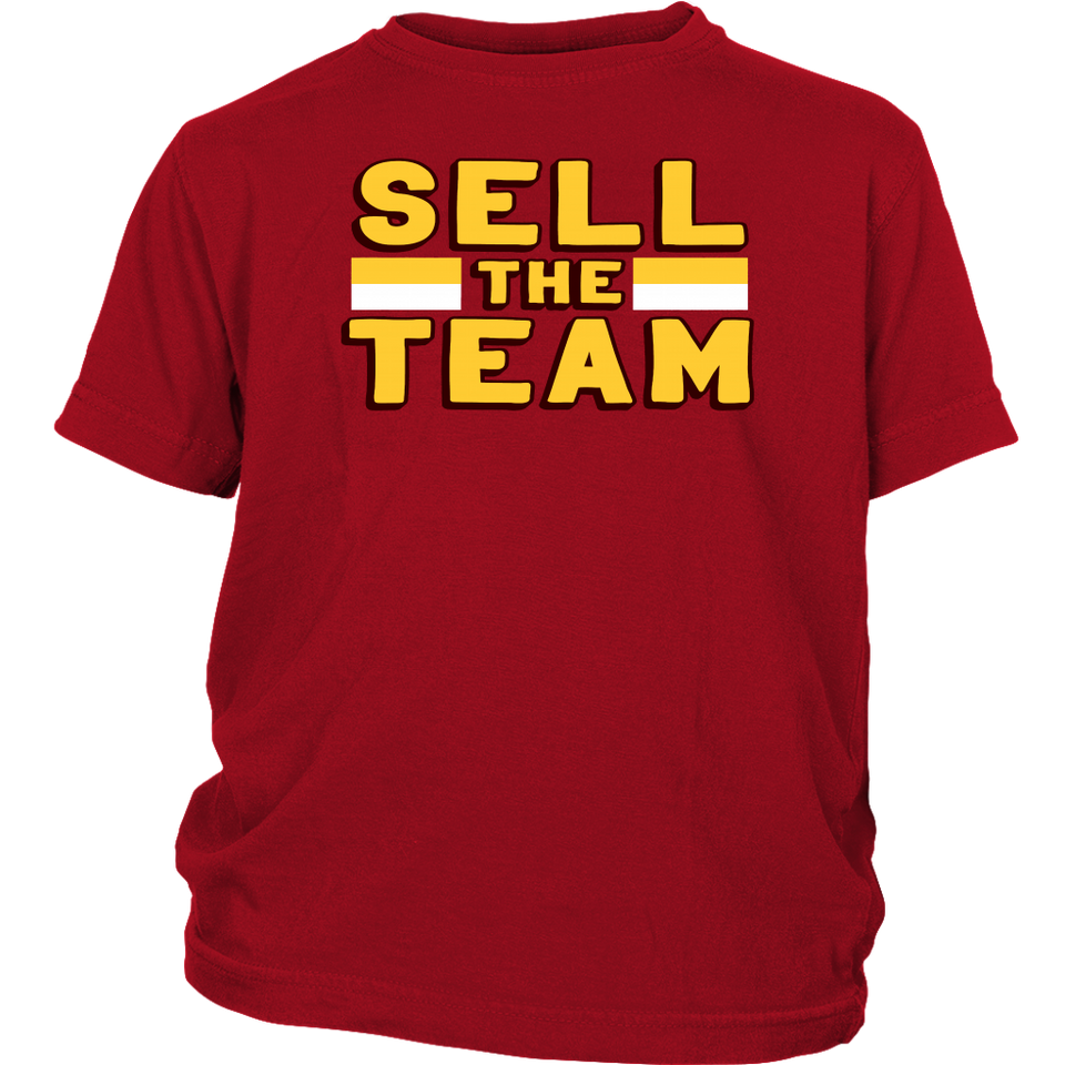Sell the Team T-Shirt Washington Redskins