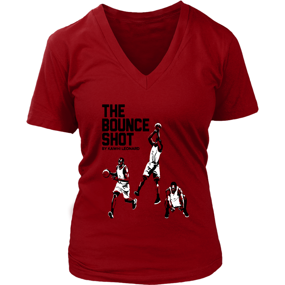 THE BOUNCE SHOT BY KAWHI LEONARD SHIRT Kawhi Leonard - Toronto Raptors
