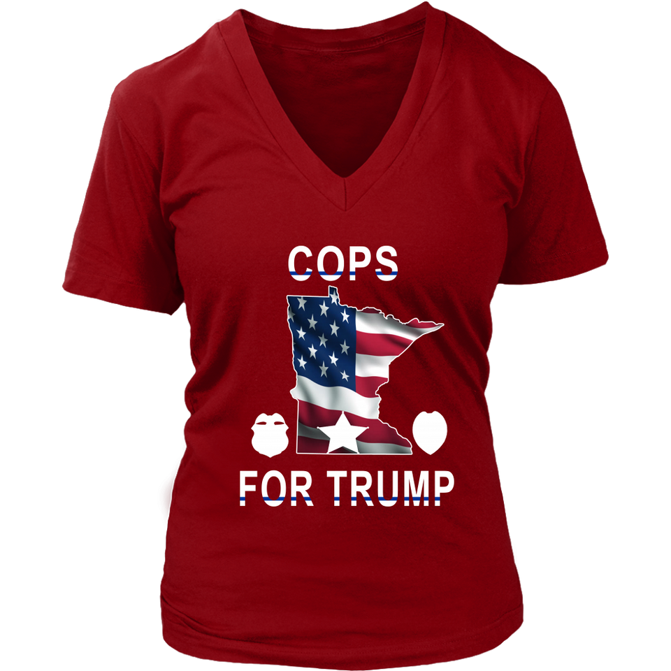 Cops for Trump T-shirt Minneapolis Police Union