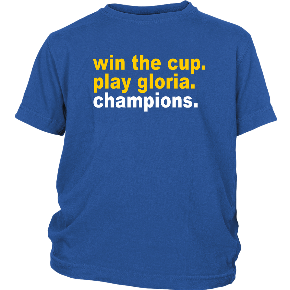 Win The Cup - Play Gloria - Champions Shirt St louis Blues