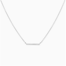 Load image into Gallery viewer, Mejuri - Diamond Line Necklace