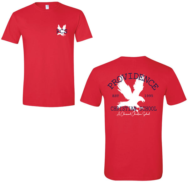 Red Eagle Short Sleeve Tee