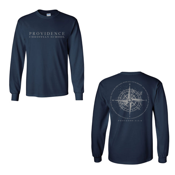 Compass Long Sleeve Tee
