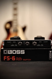 Boss FS-6 Dual Foot Switch Effects & Pedals BOSS
