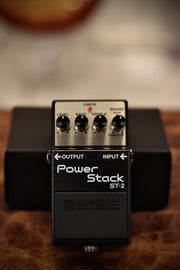 Boss ST-2 Power Stack Overdrive Pedal Effects & Pedals BOSS
