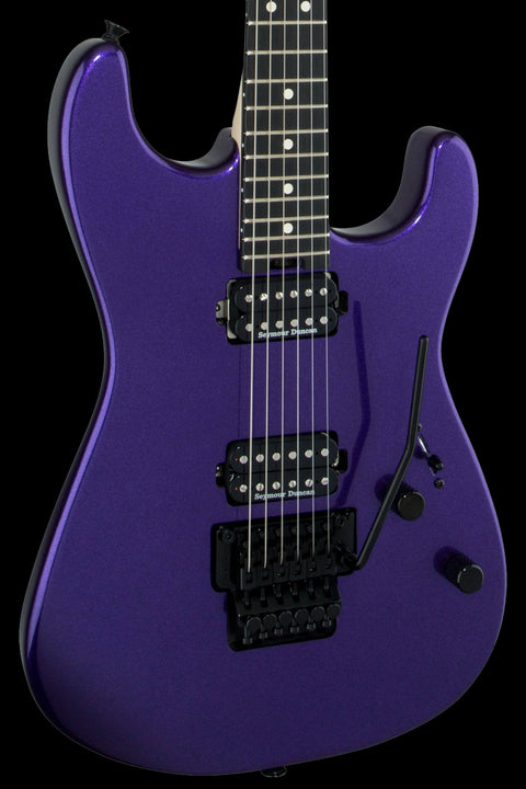 Charvel Pro-Mod San Dimas Style 1 HH FR - Deep Purple Metallic Electric Guitar Charvel