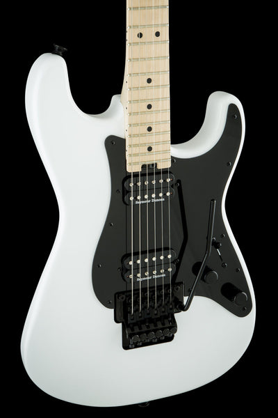 Charvel Pro-Mod So-Cal Style 1 HH FR, Left-Handed, Snow White Electric Guitar Charvel