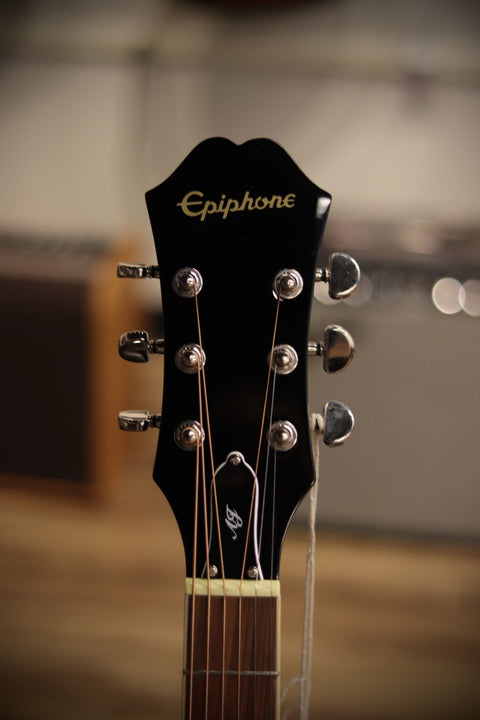 Epiphone AJ-220SCE Advanced Jumbo Acoustic-Electric Guitar - Natural Acoustic Guitar Epiphone