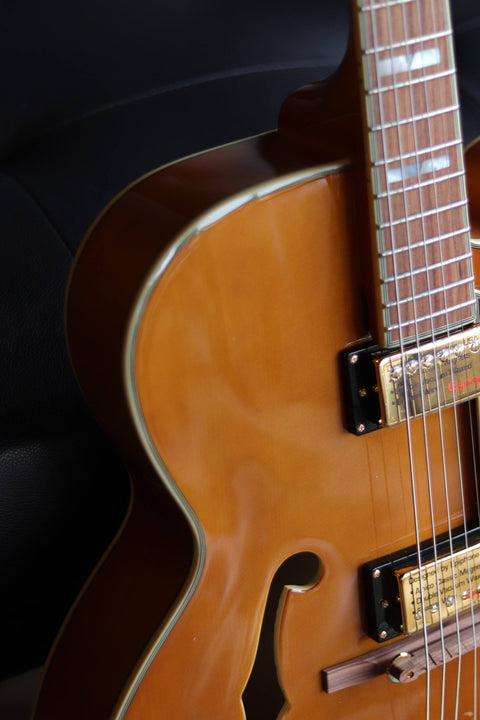 Epiphone Broadway - Vintage Natural Electric Guitar Epiphone