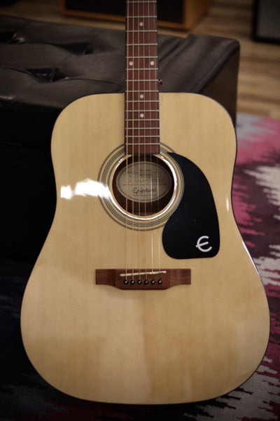 Epiphone DR-100 Dreadnought Acoustic Guitar - Natural Acoustic Guitar Epiphone