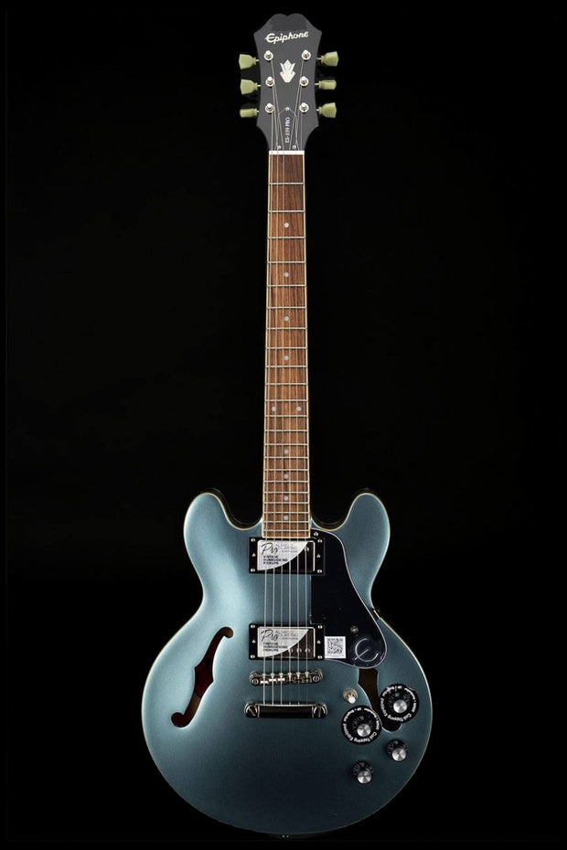 Epiphone ES-339 PRO Semi-Hollow Electric Guitar - Pelham Blue Electric Guitar Epiphone