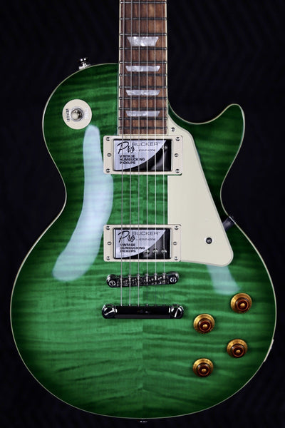 Epiphone Les Paul Standard Plustop Pro - Green Burst Electric Guitar Guitars USA Music Store