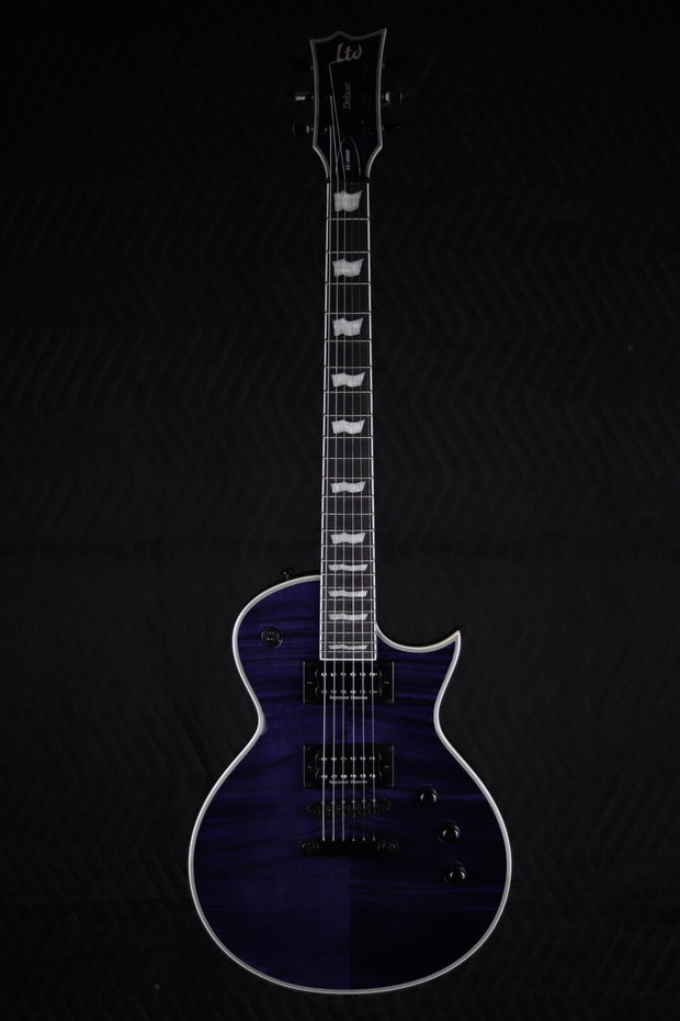 ESP LTD EC-1000 - See Thru Purple (Used) Electric Guitar ESP