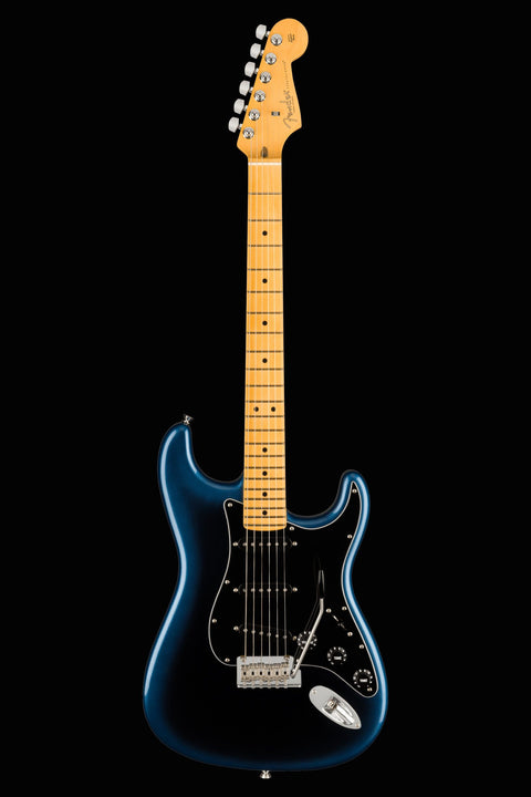 Fender American Professional II Stratocaster - Dark Night with Maple Fingerboard Electric Guitar Fender