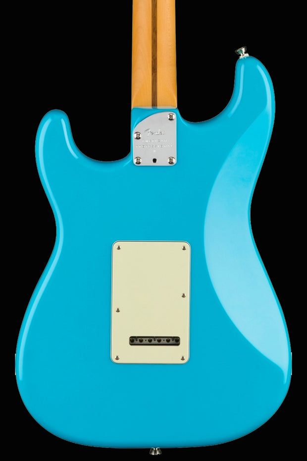 Fender American Professional II Stratocaster - Miami Blue with Maple Fingerboard Electric Guitar Fender