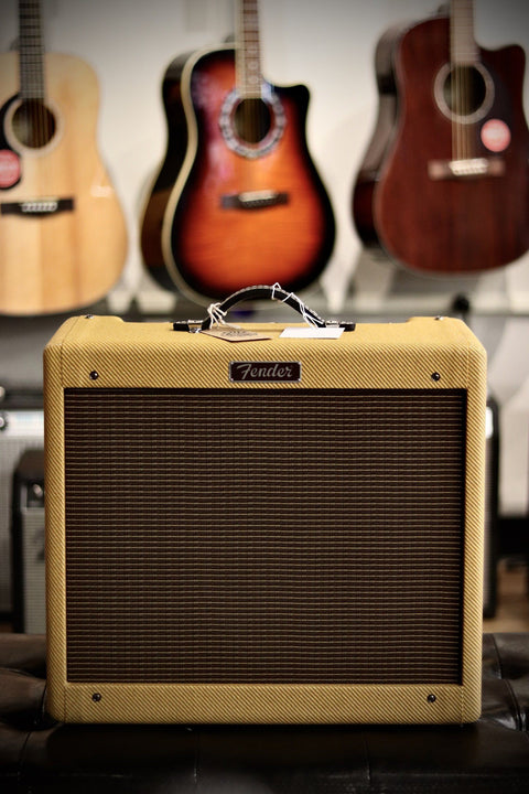"Fender Blues Junior 1x12"" Tube Combo Amp - Lacquered Tweed Amplifier Fender"