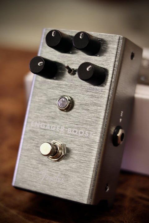 Fender Engager Boost Pedal - Clean Boost Effects & Pedals Fender