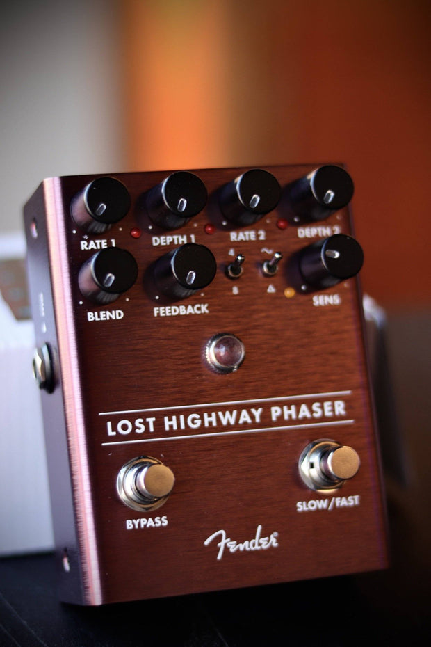 Fender Lost Highway Phaser Pedal Effects & Pedals Fender