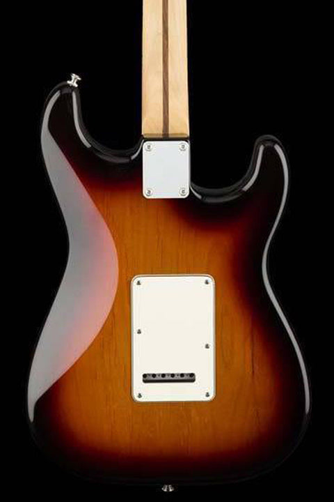 Fender Player Stratocaster Left-Handed - 3-Tone Sunburst with Maple Fingerboard Electric Guitar Fender