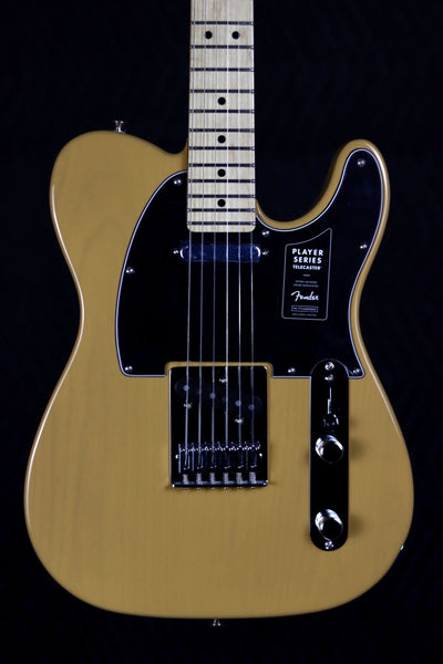Fender Player Telecaster - Butterscotch Blonde with Maple Fingerboard Electric Guitar Fender