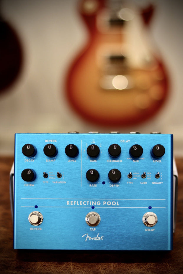 Fender Reflecting Pool Delay & Reverb Effects & Pedals Fender