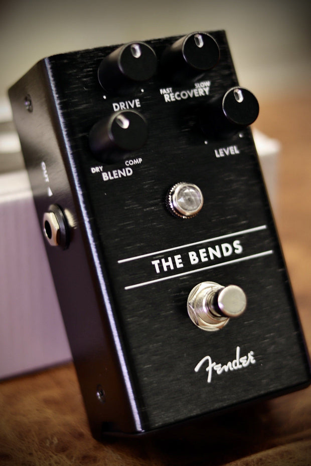 Fender The Bends Compressor Pedal Effects & Pedals Fender