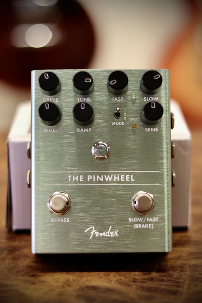 Fender The Pinwheel Rotary Speaker Emulator Pedal Effects & Pedals Guitars Usa