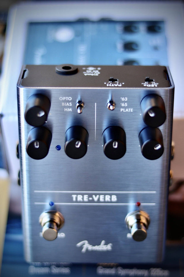 Fender Tre-Verb Tremolo/Reverb Pedal Effects & Pedals Fender