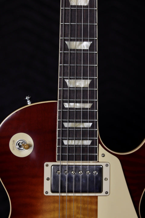 Gibson Custom 60th Anniversary 1960 Les Paul Standard V3 VOS - Wide Tomato Burst Electric Guitar Gibson