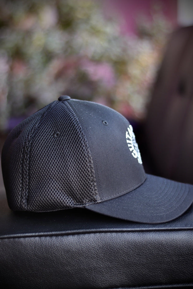 GUSA Embroidered Flex Fit Ball Cap hat Ball Cap Hat Guitars USA Music Store