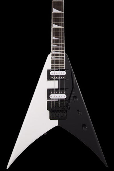 Jackson Pro Series King V - Two Face Black and White Electric Guitar Jackson