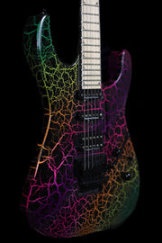 Jackson Pro Series Soloist SL3M, Rainbow Crackle! Electric Guitar Jackson