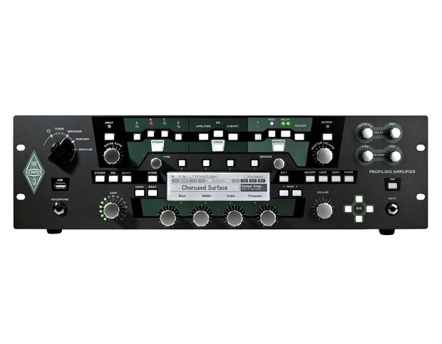 Kemper Profiler Rack + Profiler Remote Amplifier Kemper