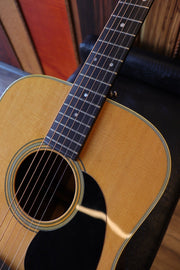 Martin 1971 D-28 Natural - (Used) Acoustic Guitar Martin