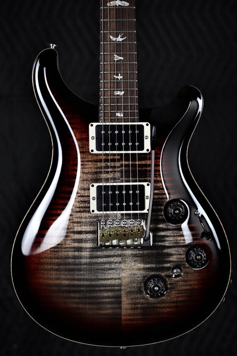 PRS Custom 24 Piezo - Charcoal Tri-Color Burst Electric Guitar PRS