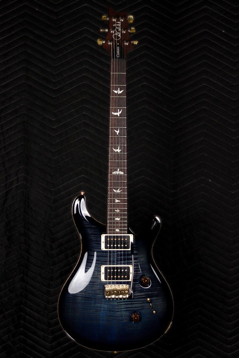 PRS Guitars Custom 24 10 Top River Blue Smokeburst Electric Guitar PRS Guitars