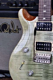 PRS SE Custom 24 Left-handed - Trampas Green Electric Guitar PRS