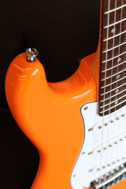 Squier Affinity Series Stratocaster - Competition Orange with Laurel Fingerboard Electric Guitar Squier