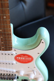 Squier Affinity Series Stratocaster - Surf Green with Laurel Fingerboard Electric Guitar Squier