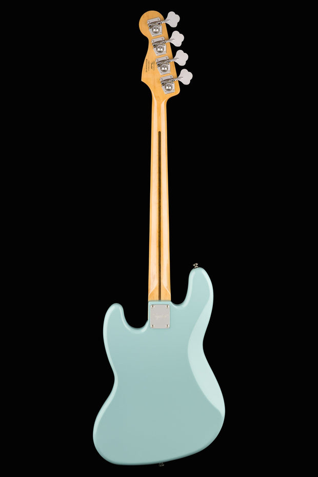 Squier Classic Vibe '60s Jazz Bass - Daphne Blue Bass Guitar Squier