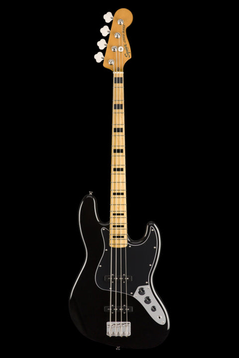 Squier Classic Vibe '70s Jazz Bass - Black Bass Guitar Squier