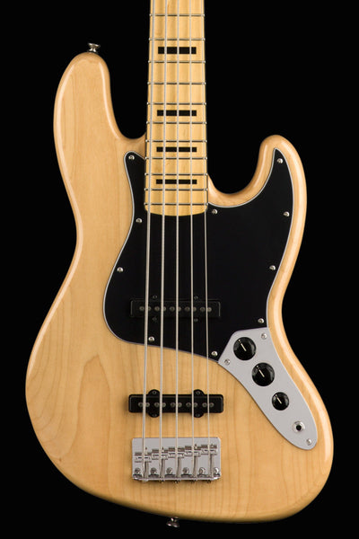 Squier Classic Vibe '70s Jazz Bass - Natural Bass Guitar Squier