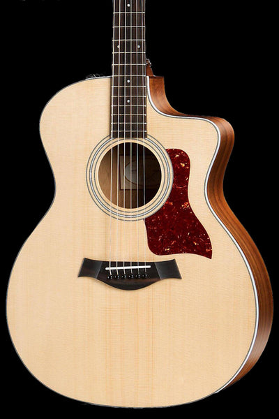 Taylor 214ce Acoustic-Electric Guitar - Natural Acoustic Guitar Taylor