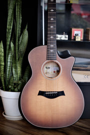 Taylor 614ce Builder's Edition - Wild Honey Burst Acoustic Guitar Taylor
